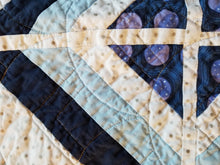 "Load image into Gallery viewer, ""Connection"" - Gender Neutral Throw Quilt"