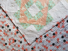 "Load image into Gallery viewer, ""Meadowland"" - Floral Twin Quilt"