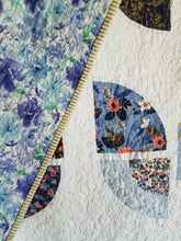"Load image into Gallery viewer, ""Butterfly Bouquet"" - Modern Throw Quilt"