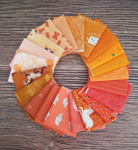 Orange Fat Quarter Bundle