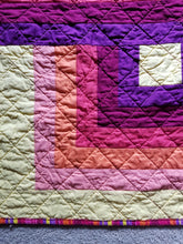 "Load image into Gallery viewer, ""Cornered"" - Baby Quilt"