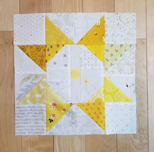 Load image into Gallery viewer, Sun Star Quilt Pattern
