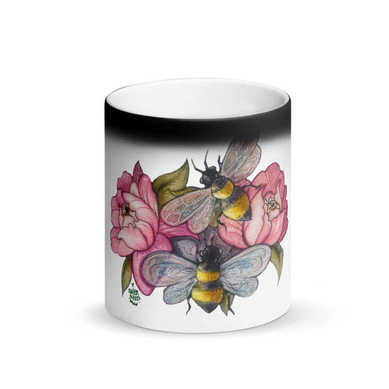 Bee Happy Magic Mug