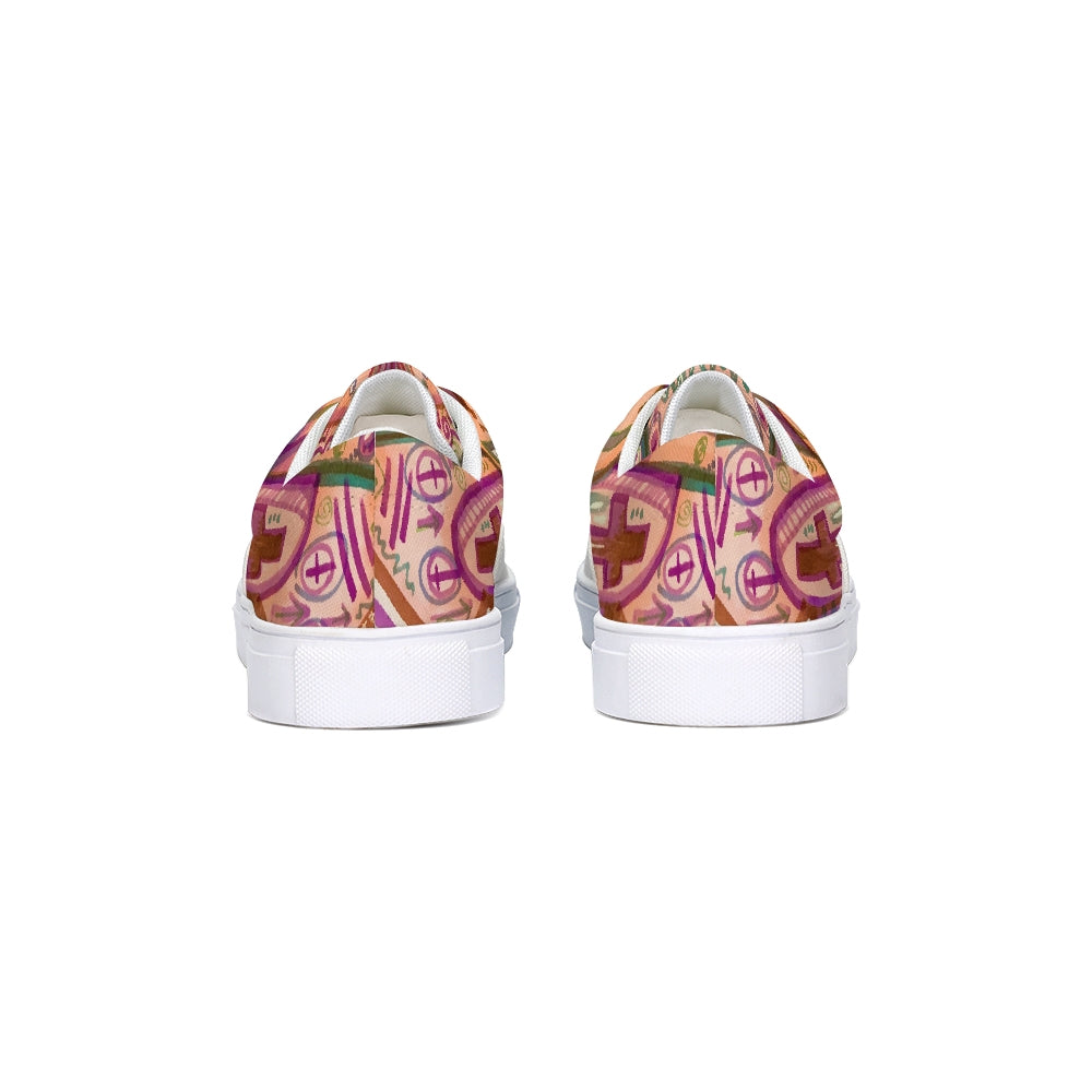 DREAMER Lace Up Canvas Shoe