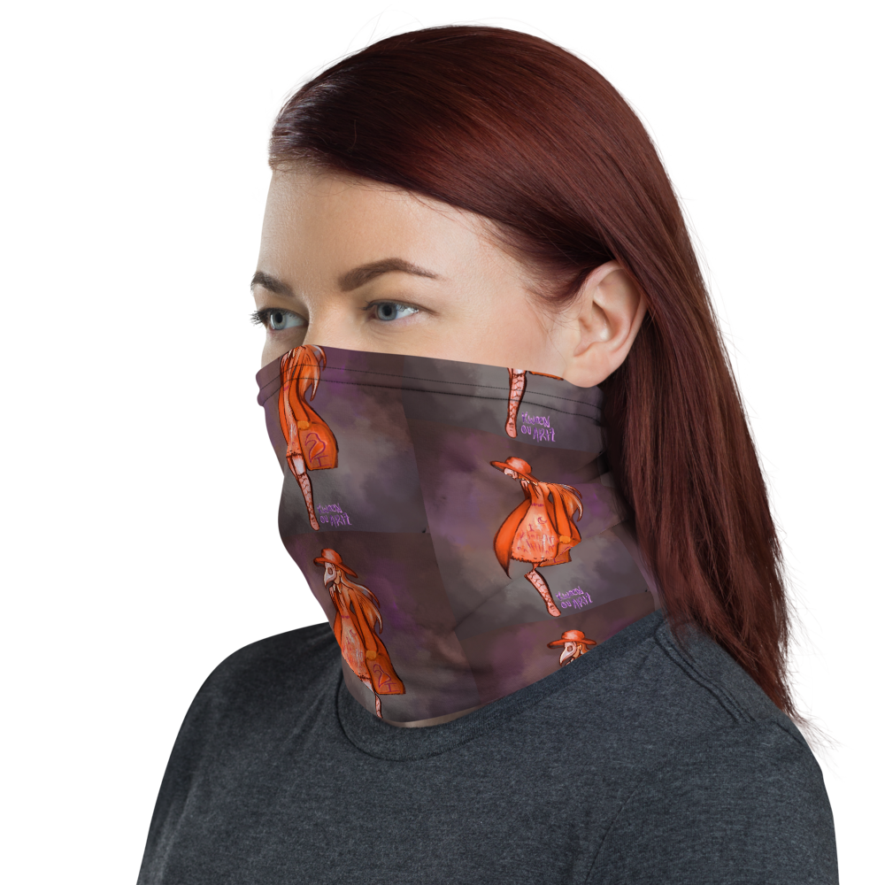 House Call in RED Neck Gaiter