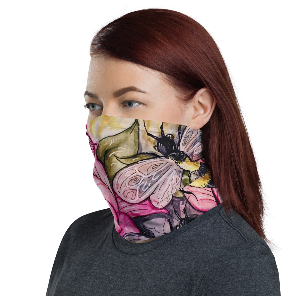 Bee Happy Neck Gaiter