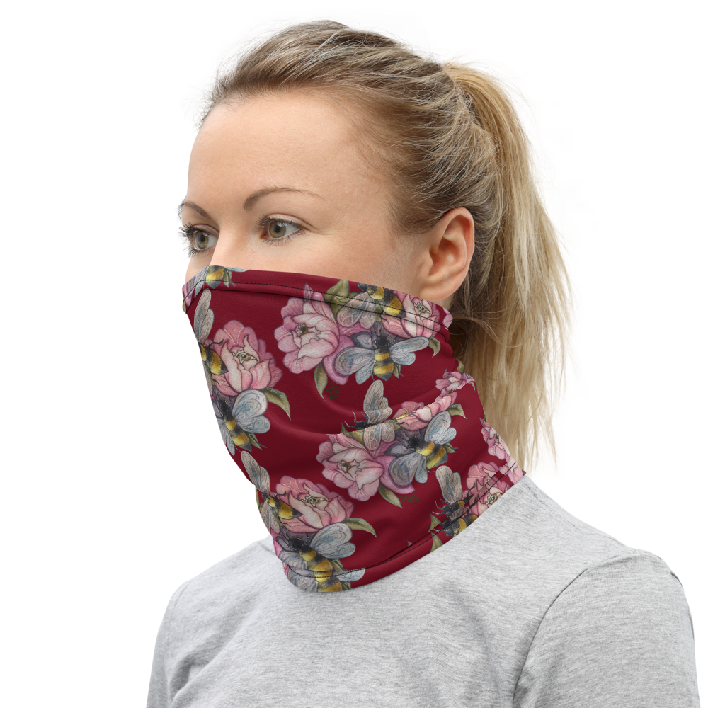 Bee Happy 2 Neck Gaiter