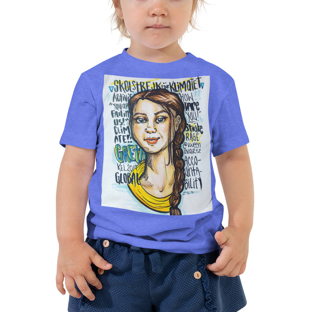 Greta - Toddler Short Sleeve Tee