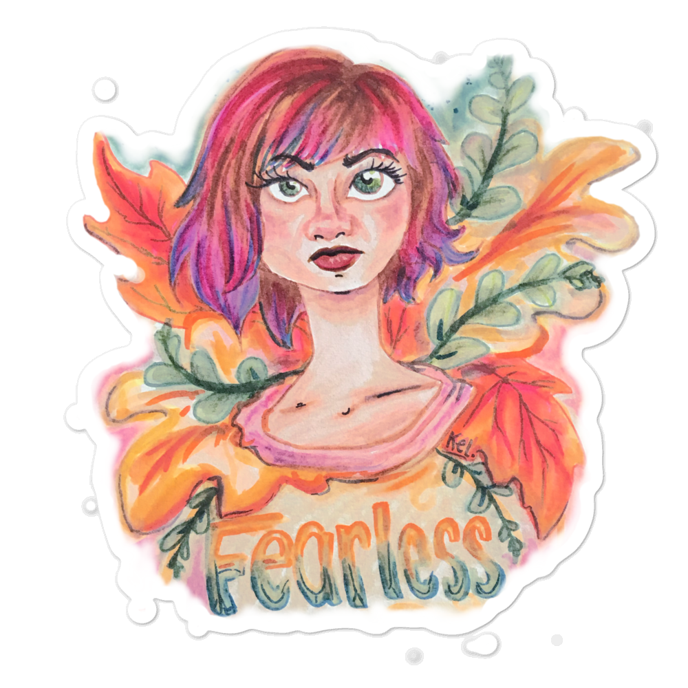 Fearless stickers