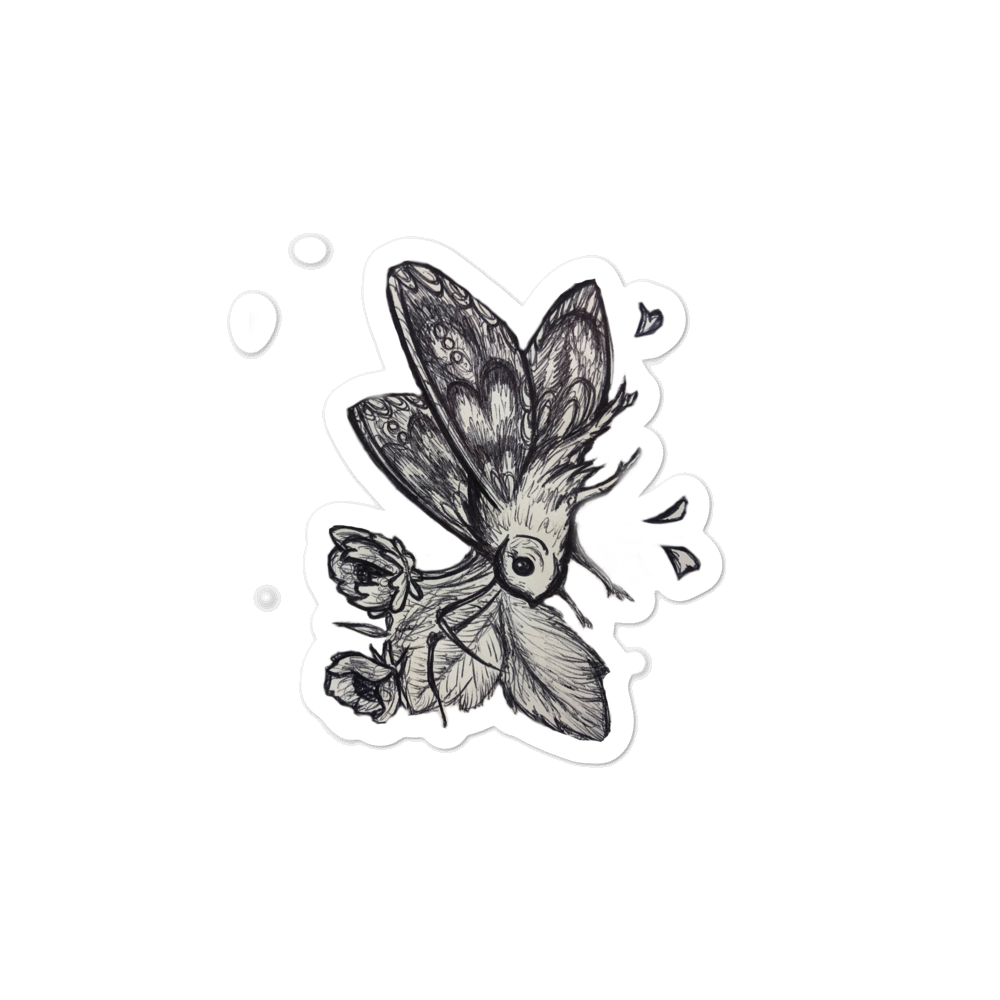 Moth - stickers