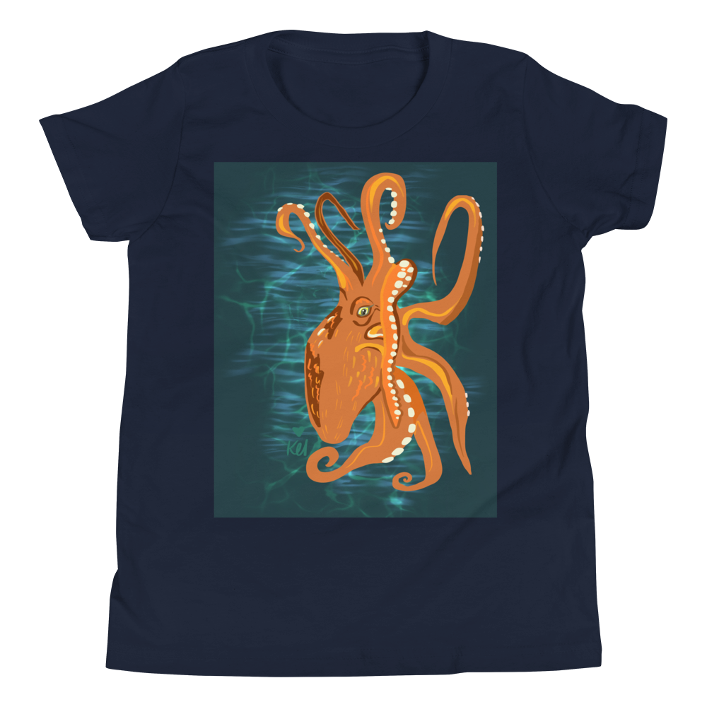 Octopus - Youth Short Sleeve T-Shirt
