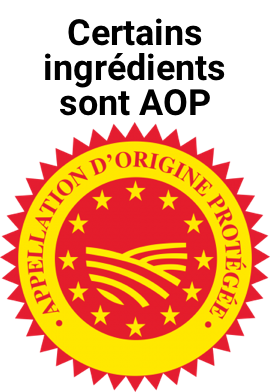 logo label aop ingredients