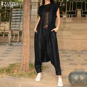 Women's Drop Crotch Jumpsuits