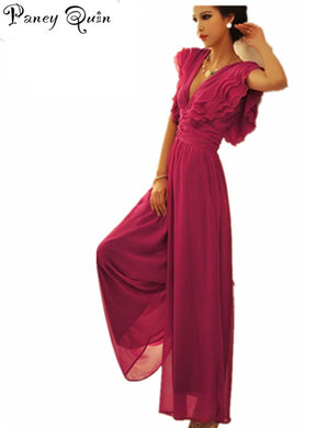 Elegant temperament rompers womens jumpsuit