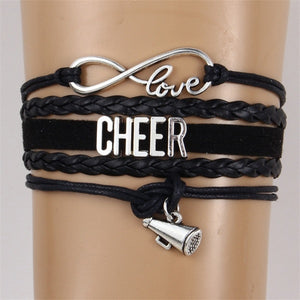 Love Cheer Bracelets 5 colors
