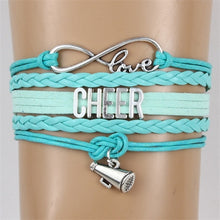 Load image into Gallery viewer, Love Cheer Bracelets 5 colors