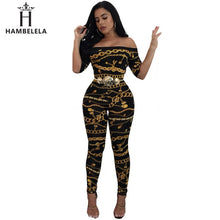 Load image into Gallery viewer, HAMBELELA 2017 New Women Sexy Bodycon Jumpsuit