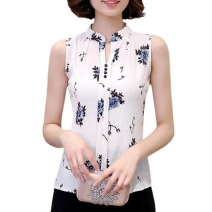 EFINNY Summer Women V-Neck Fashion Women Blouse