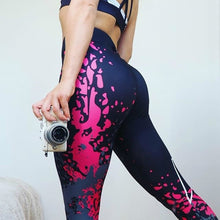 Load image into Gallery viewer, New Fashion Women High Waist Workout Leggings Printed Punk Women's Fitness Stretchy Trousers Casual Slim Pants Leggings 6 Styles
