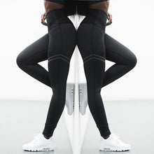 Load image into Gallery viewer, High Elastic Fitness Sport Leggings Tights Slim Running