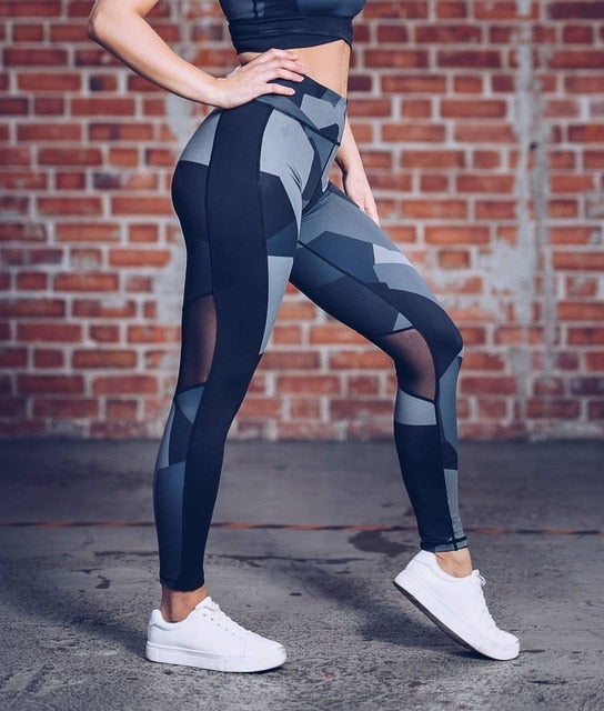 2018  Leggins Sport Women Fitness Sexy Sport Leggings Push Up