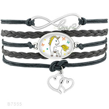 Load image into Gallery viewer, Unicorn Horse Bracelets Unisex