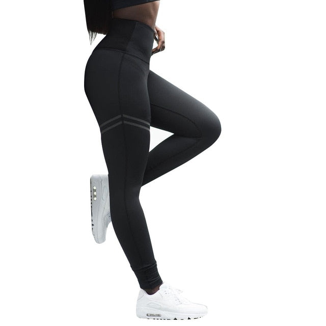 Womens High Waist Yoga Leggings Autumn Ladies Sexy
