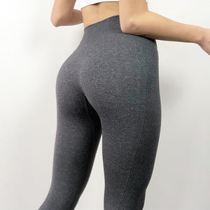 High Seamless Yoga Pants Sports Leggings For Women's