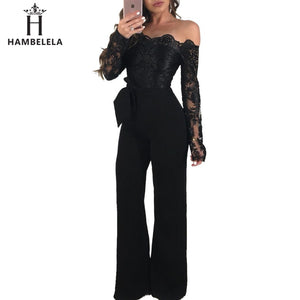 HAMBELELA Sexy Strapless Jumpsuit