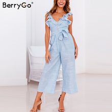 Load image into Gallery viewer, BerryGo women rompers jumpsuit