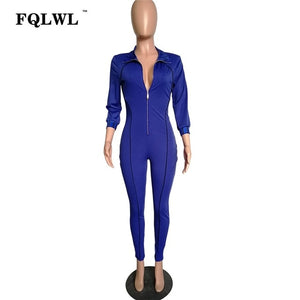 FQLWL Streetwear Bodycon Sexy Jumpsuit For Women