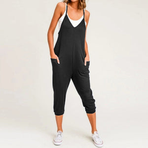 Celmia 2019 Summer Women Jumpsuits Sleeveless Sexy