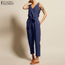 Load image into Gallery viewer, Overalls Womens Jumpsuits 2019 ZANZEA
