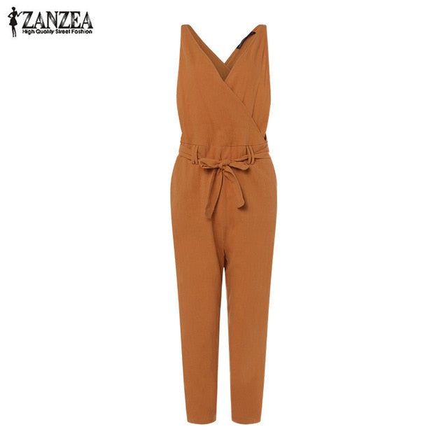 Plus Size Stylish Women's Jumpsuits