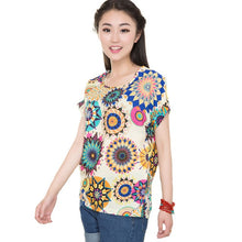 Load image into Gallery viewer, CUHAKCI  Chiffon Blouses Women Summer Tops And Shirts