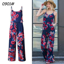 Load image into Gallery viewer, Sparsil Women Fashion Strap Jumpsuit