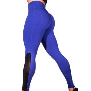 LOOZYKIT 2019 Women Sexy  Solid Slim  Leggins Gym Workout
