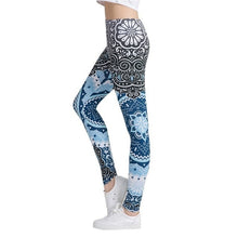 Load image into Gallery viewer, Retro Print Gym Legging Women Fitness