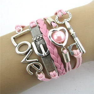 High Quality Style Wings Retro  Bracelet