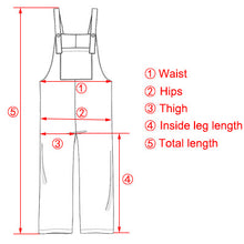 Load image into Gallery viewer, EaseHut Plus Size S-3XL Women  Casual Loose Solid Jumpsuit