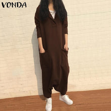 Load image into Gallery viewer, VONDA Rompers Womens Jumpsuit
