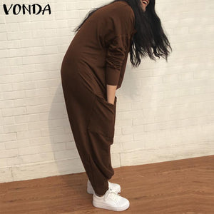 VONDA Rompers Womens Jumpsuit