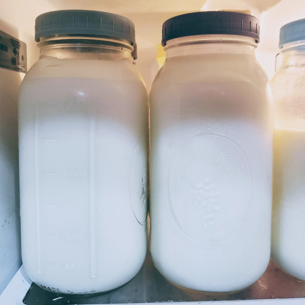 Raw Cow's Milk (Half Gallon)