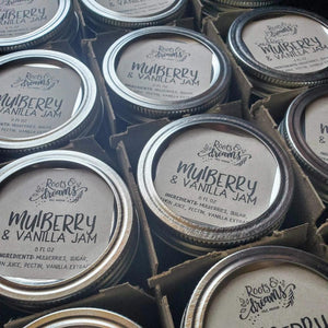 Roots & Dreams Mulberry Vanilla Jam