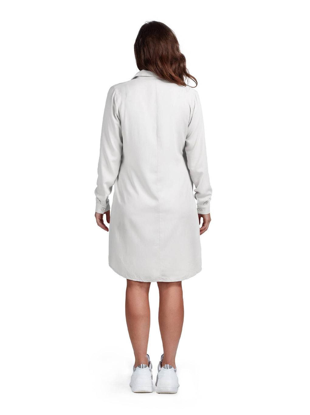 Women's Wrap Knot Dress - Creamy Vanilla