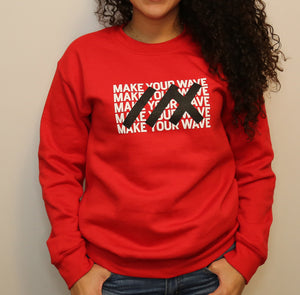 07_RED CREWNECK SWEATSHIRT