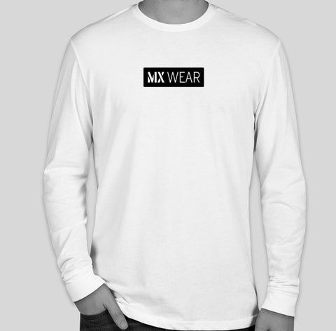 MX White Long Sleeve