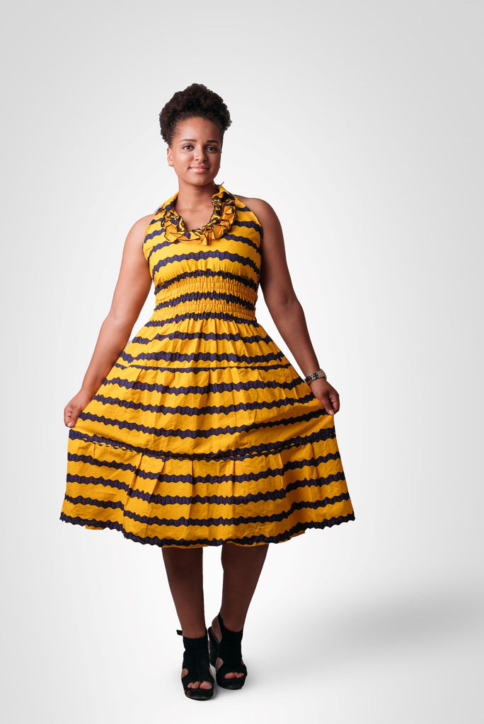 Yellow Haifa Dress