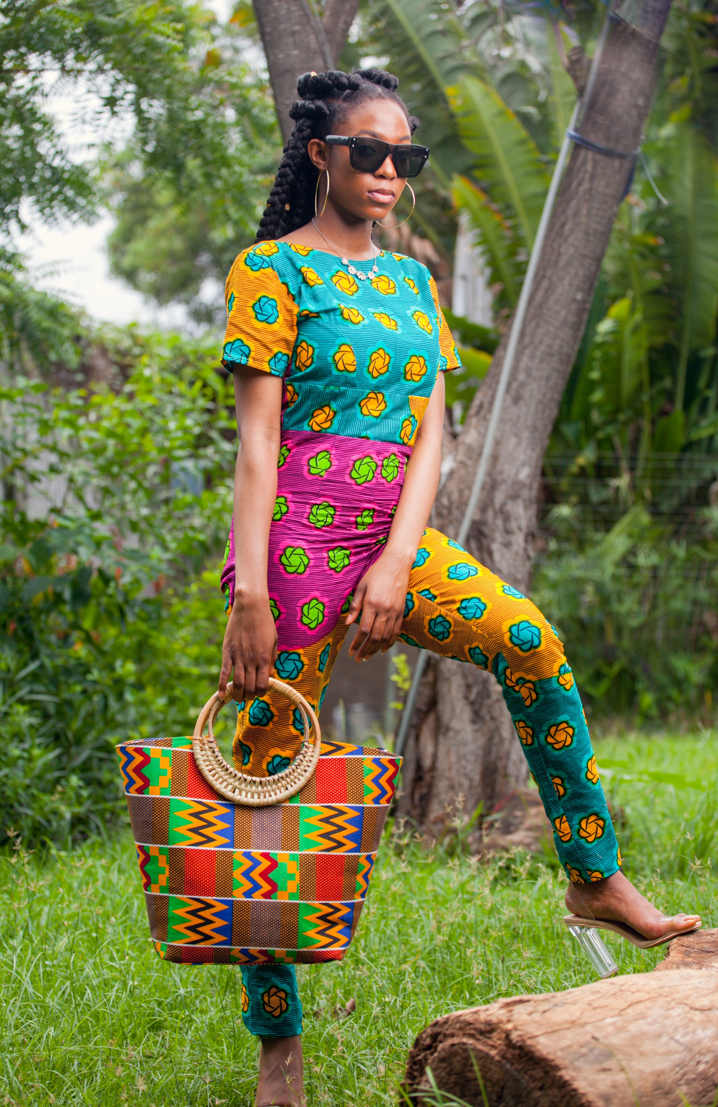 Colorful Rabbiyah Jumpsuit