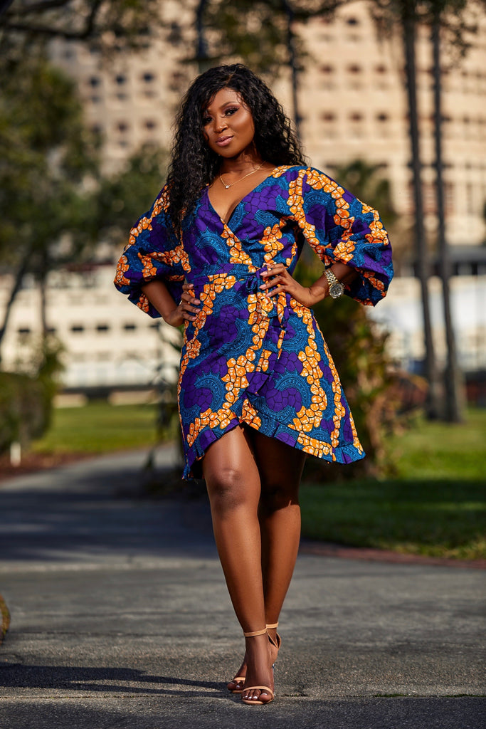 Wrap Wura dress